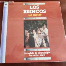 Discos de vinilo: LOS BRINCOS - LO MEJOR - LP - 1982. Lote 295692333