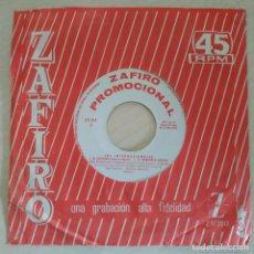 Discos de vinilo: LOS INTERNACIONALES - ME CONFORMO / EL VENDEDOR DE MELONES +2 EP 1964 ZAFIRO PROMOCIONAL (ALGUERÓ). Lote 295696958
