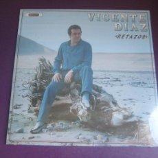Discos de vinilo: VICENTE DÍAZ – RETAZOS - LP DIAMANTE 1985 PRECINTADO - FOLK ASTURIAS TRADICIONAL. Lote 295697113