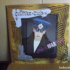 Discos de vinilo: CULTURE CLUB ---- THE WAR SONG -- MAXI SINGLE. Lote 295697503