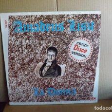 Discos de vinilo: AMADEUS LISZT --- LA DONNA - MAXI SINGLE. Lote 295698308
