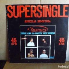 Discos de vinilo: PASSENGERS --- TOUCH AND GO - MAXI SINGLE. Lote 295698568