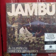 Discos de vinilo: JAMBÚ E OS MÍTICOS SONS DA AMAZÔNIA. DOBLE LP VINILO NUEVO PRECINTADO. ANALOG ÁFRICA. Lote 295698763