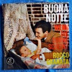 Discos de vinilo: ROCCO GRANATA - BUONA NOTTE. Lote 295698903