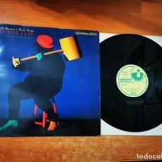 Discos de vinilo: NICK MASON RICK FENN & DAVID GILMOUR LIFE FOR A LIE MAXI SINGLE VINILO AÑO 1985 ESPAÑA PINK FLOYD. Lote 295700718