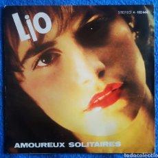 Discos de vinilo: LIO - AMOUREUX SOLITAIRES. Lote 295701498