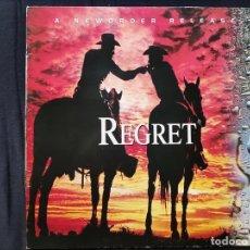 Discos de vinilo: NEW ORDER - REGRET. Lote 295704633