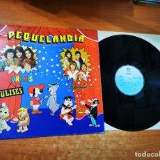 Discos de vinilo: PEQUELANDIA PARCHIS REGALIZ LP VINILO DEL AÑO 1982 CONTIENE 12 TEMAS. Lote 295710153