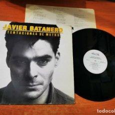 Discos de vinilo: JAVIER BATANERO TENTACIONES DE METRO LP VINILO DEL AÑO 1986 ANTONIO GARCIA DE DIEGO LUIS PASTOR. Lote 295713753