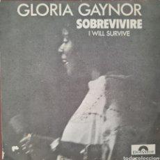 Discos de vinilo: SINGLE - GLORIA GAYNOR - SOBREVIVIRE - ESPAÑA 1978. Lote 295714398