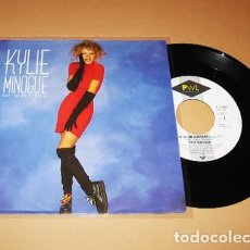 Discos de vinilo: KYLIE MINOGUE - GOT TO BE CERTAIN - SINGLE - 1988. Lote 266817134