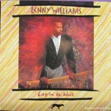 Discos de vinilo: LENNY WILLIAMS: LAYIN´ IN WAIT U.S.A. EX TOWER OF POWER. TREMENDO SOUL / FUNK. ORIGINAL U.S.A.. Lote 295717243