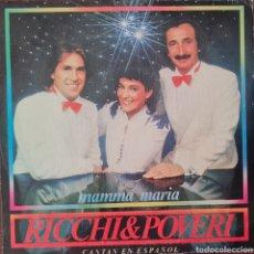 Discos de vinilo: SINGLE - RICCHIE & POVERI - MAMMA MARIA - ESPAÑA 1983. Lote 295717348