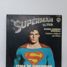 Discos de vinilo: B.S.O. JOHN WILLIAMS, SUPERMAN (WARNER 1978). Lote 295719193