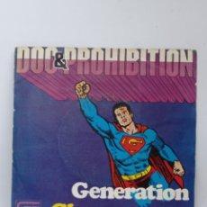 Discos de vinilo: DOC & PROHIBITION, GENERATION (BOCACCIO 1974). Lote 295720138