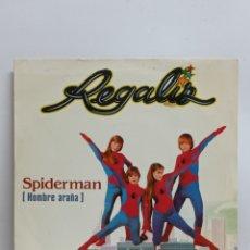 Discos de vinilo: REGALIZ, SPIDERMAN (BELTER 1981). Lote 295722973