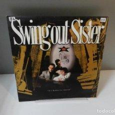 Discos de vinilo: DISCO VINILO LP. SWING OUT SISTER – IT'S BETTER TO TRAVEL. 33 RPM. Lote 295724903