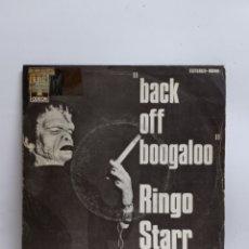 Discos de vinilo: RINGO STARR, BACK OFF BOOGALOO (EMI 1972). Lote 295726428