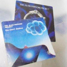 Discos de vinilo: LOTE DE DOS VINILOS THE ALAN PARSONS PROJECT VINILOS MINT / PORTADAS VG ++. Lote 295726638