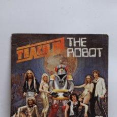 Discos de vinilo: TEACH IN, THE ROBOT (SAUCE 1977). Lote 295726803