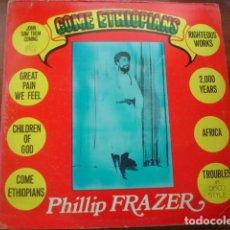 Discos de vinilo: PHILLIP FRAZER COME ETHIOPIANS. Lote 295726908