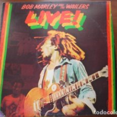 Discos de vinilo: BOB MARLEY & THE WAILERS LIVE!. Lote 295729163