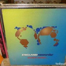 Discos de vinilo: CAJJ151 MAXI SINGLE NEW ORDER WORLD IN MOTION CORRECTO ESTADO DE VINILO. Lote 295730393