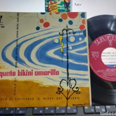 Discos de vinilo: PEQUEÑO BIKINI AMARILLO EP VRAYAN JULIÁN,LOS ZENDER,. Lote 295730608