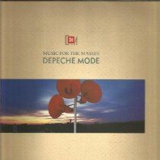 Discos de vinilo: DEPECHE MODE MUSIC FOR MASSES. Lote 295730693