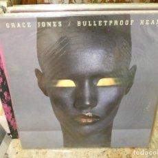 Discos de vinilo: CAJJ151 LP GRACE JONES VAGABOND HEART 1989 UNA LINEA VISIBLE PERO LEVE, NO ESTA MAL. Lote 295730918