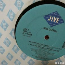 Discos de vinilo: CAJJ151 MAXI SINGLE HOUSE DISCOTECA DINAH CARROLL ME SIENTA SOLA ESTADO CORRECTO EN JIVE. Lote 295731233