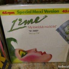Discos de vinilo: CAJJ151 MAXI SINGLE HOUSE DISCOTECA LIME MI AMOR TAKE IT UP 1984 ESTADO DECENTE. Lote 295732498