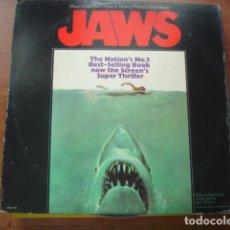 Discos de vinilo: JOHN WILLIAMS JAWS (MUSIC FROM THE ORIGINAL MOTION PICTURE SOUNDTRACK). Lote 295732533