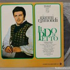 Discos de vinilo: LP. GIANNI RAIMONDI. IL DO DI PETTO. Lote 295733508
