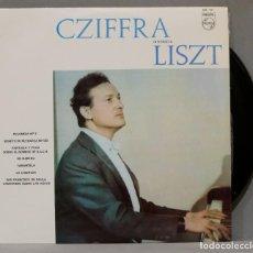 Discos de vinilo: LP. CZIFFRA INTERPRETA A LISZT. Lote 295733653