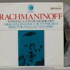 Discos de vinilo: LP. RACHMANINOFF. SINFONIA N. 2 EN MI MENOR.OP.27. STEINBERG. Lote 295735033
