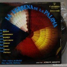 Discos de vinilo: LP. LA VERBENA DE LA PALOMA. ARGENTA. Lote 295735283