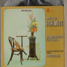 Discos de vinilo: LP. AMADEO VIVES. BOHEMIOS. SOROZABAL. Lote 295735353