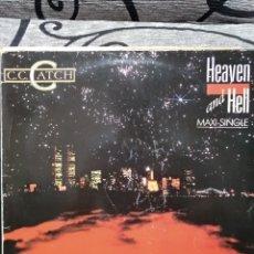Discos de vinilo: C.C. CATCH–HEAVEN AND HELL. Lote 295736333
