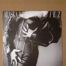 Discos de vinilo: ALASKA + DINARAMA : DIEZ. 1987. (560) 748739 1. DISCO Y CARÁTULA EX EX. INSERTO CON LETRAS.. Lote 295736878