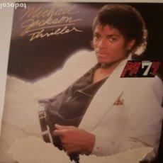 Discos de vinilo: MICHAEL JACKSON THRILLER PRIMERA EDICIÓN ESPAÑOLA 1982 EPIC. Lote 295739313
