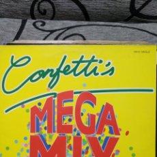 Discos de vinilo: CONFETTI'S – CONFETTI'S MEGAMIX. Lote 295741333