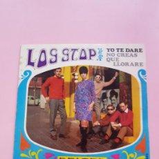 Discos de vinilo: VINILO-SINGLE-LOS STOP-BELTER-YO TE DARÉ-1968-VINILO NUEVO-FUNDA-EXCELENTE.. Lote 295744068