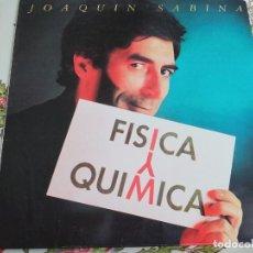 Discos de vinilo: JOAQUÍN SABINA – FÍSICA Y QUÍMICA. 1992. SELLO: ARIOLA – 212863 (5F) .(LP),NUEVO. MINT / NEAR MINT. Lote 295746788