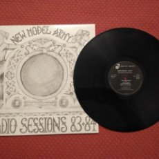 Discos de vinilo: NEW MODEL ARMY - RADIO SESSION 83-84 ABSTRACT SOUNDS MADE IN UK. Lote 295748823