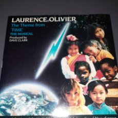 """Discos de vinilo: SINGLE LAURENCE OLIVIER, THE THEME FROM """"TIME"""" THE MUSICAL, THE THEME """"TIMES INSTRUMENTAL VERSIÓN.. Lote 295752748"""