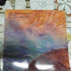 Discos de vinilo: DINO DEL MONTE NAHOR-ZIMBAL LOS CUATRO ELEMENTOS 1° EDICION ESPAÑOLA 1986. Lote 295755693