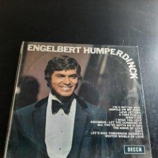 Discos de vinilo: ENGELBERT HUMPERDINCK. Lote 295756978