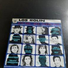 Discos de vinilo: LOS ROLIN. Lote 295757128