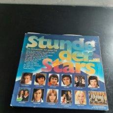 Discos de vinilo: STUNDE DER STARS. Lote 295757178